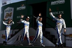 #60 Michael Shank Racing with Curb/Agajanian Ligier JS P2 Honda : John Pew, Oswaldo Negri, A.J. Allmendinger, Olivier Pla