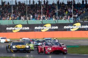 #90 TF SPORT - Aston Martin Vantage AMR: Salih Yoluc, Charles Eastwood, Jonathan Adam Race