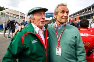 Sir Jackie Stewart, 3-time F1 Champion, with Belgian legend Jacky Ickx