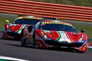 Джеймс Каладо и Алессандро Пьергвиди, AF Corse, Ferrari 488 GTE Evo (№51)