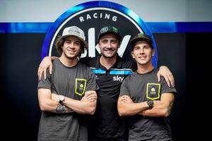 Marco Bezzecchi, Pablo Nieto, Andrea Migno, SKY RACING TEAM VR46