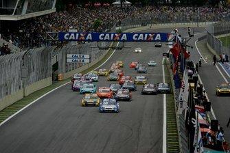 Arranque en la Carrera del Milló 2012
