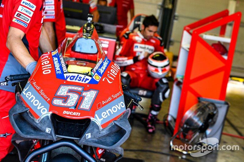Michelle Pirro, Ducati Team - 1 caída (wildcard)