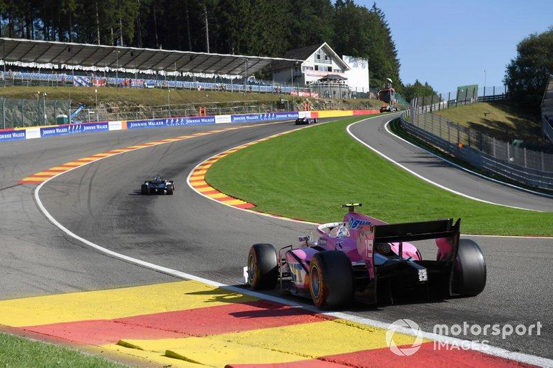7) Гонка Формулы 2 в Спа 2019