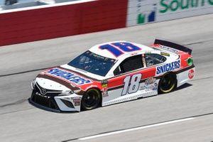 Kyle Busch, Joe Gibbs Racing, Toyota Camry Snickers Throwback