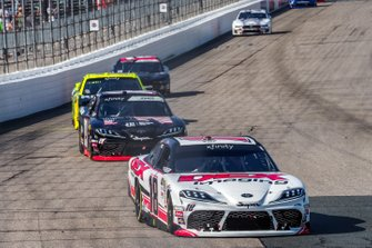 Harrison Burton, Joe Gibbs Racing, Toyota Supra Dex Imaging, Brandon Jones, Joe Gibbs Racing, Toyota Supra First Foundation
