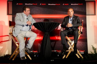 John Hindaugh and Scott Atherton at the IMSA State of the Series announcements