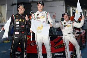 アンドレ・クート、高橋翼、藤波清斗(#87 T-DASH ランボルギーニ GT3)