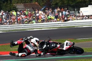 Romano Fenati, Team O crash