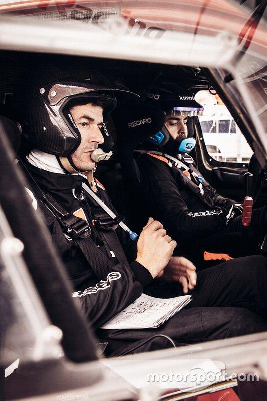 Fernando Alonso, Marc Coma, Toyota