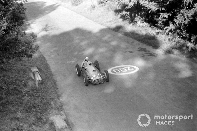 ...y ganó la siguiente carrera, la del GP de Italia 1951