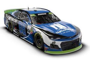 Alex Bowman, Hendrick Motorsports, Chevrolet Camaro Axalta, livery