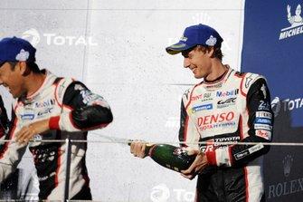 #8 Toyota Gazoo Racing Toyota TS050: Brendon Hartley