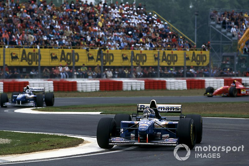 Дэймон Хилл и Дэвид Култхард, Williams FW17 Renault