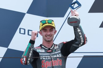 Podium: second place John McPhee, SIC Racing Team