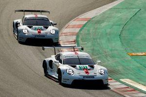 #91 Porsche GT Team Porsche 911 RSR - 19: Gianmaria Bruni, Richard Lietz. #92 Porsche GT Team Porsche 911 RSR - 19: Michael Christensen, Kevin Estre