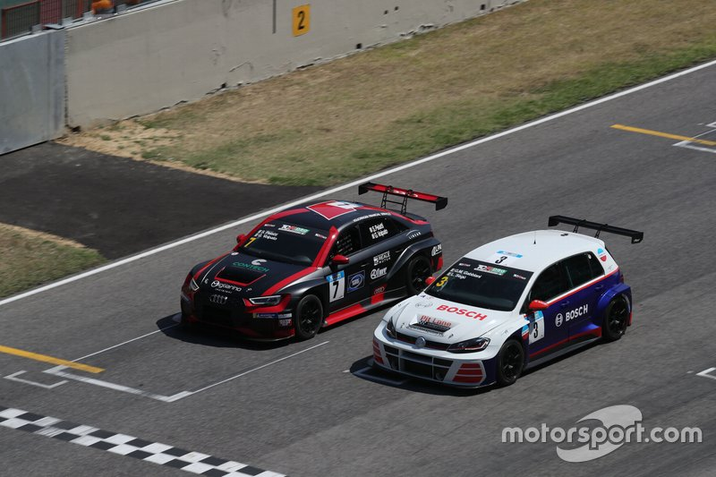 Pelatti-Volpato, Scuderia del Girasole, Audi RS3 LMS TCR DSG, Gabbiani-Segu, Pit Lane Competizioni, Volkswagen Golf GTI TCR DSG