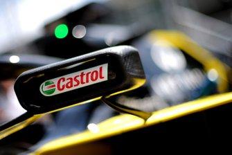 Logo de Castrol en el Renault F1 Team R.S.19
