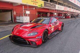 #90 TF Sport Aston Martin Vantage GTE, Salih Yoluç, Charlie Eaastwood, Jonny Adam