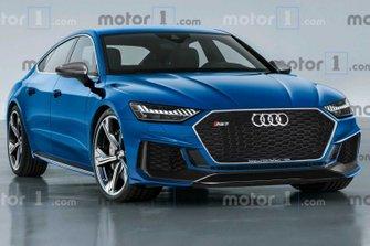 2020 Audi RS7 Sportback render
