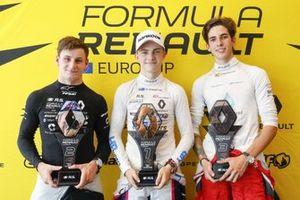 Conferencia: Oscar Piastri, R-ACE GP, Victor Martins, MP Motorsport, Sebastian Fernandez, Arden