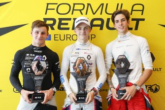 Press conference: Oscar Piastri, R-ACE GP, Victor Martins, MP Motorsport, Sebastian Fernandez, Arden