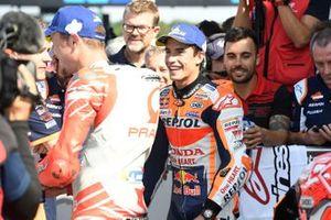 Le poleman Marc Marquez, Repsol Honda Team