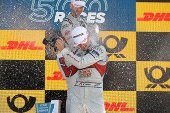 Podio: René Rast, Audi Sport Team Rosberg, Nico Müller, Audi Sport Team Abt Sportsline