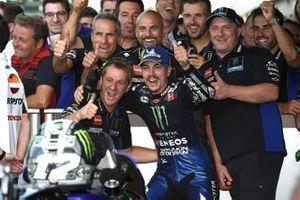Third place Maverick Vinales, Yamaha Factory Racing