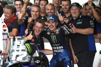 Third place Maverick Vinales, Yamaha Factory Racing