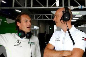 #77 Mercedes-AMG Team Craft-Bamboo Racing Mercedes-AMG GT3: Yelmer Buurman with Stefan Wendl, AMG