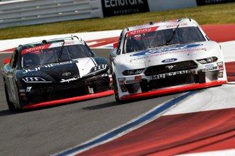 Chase Briscoe, Biagi-DenBeste Racing, Ford Mustang Ford Performance and Brandon Jones, Joe Gibbs Racing, Toyota Supra Juniper