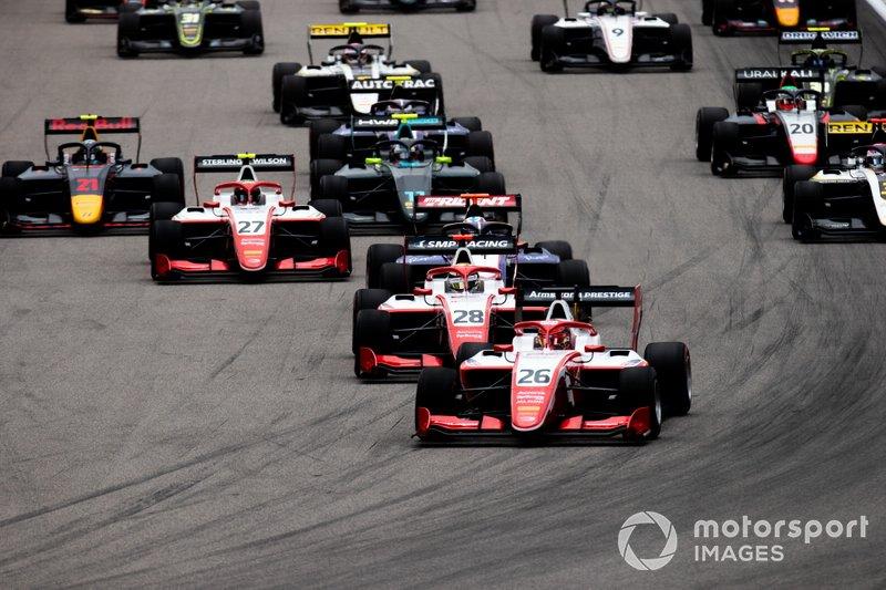 Marcus Armstrong, PREMA Racing e Robert Shwartzman, PREMA Racing