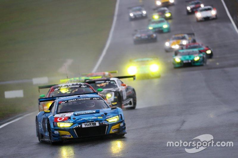 #5 Phoenix Racing Audi R8 LMS- Frank Stippler, Vincent Kolb, Steve Jans