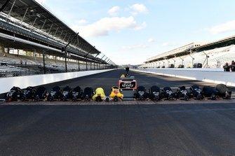 Yarış galibi Kyle Busch, Joe Gibbs Racing, Toyota Supra