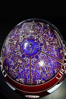 Il design del nuovo casco di Nikita Mazepin, ART Grand Prix