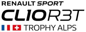 Logo Clio R3T Trophy Alps RS