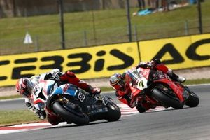 Tom Sykes, BMW Motorrad WorldSBK Team, Chaz Davies, Aruba.it Racing-Ducati Team