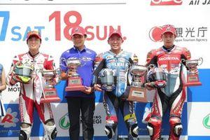 全日本ロードレース選手権第5戦JSB1000もてぎ 表彰台