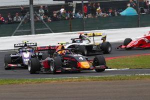 Liam Lawson, MP Motorsport, Pedro Piquet, Trident en Christian Lundgaard, ART Grand Prix