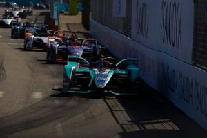 Mitch Evans, Panasonic Jaguar Racing, Jaguar I-Type, 3, Robin Frijns, Envision Virgin Racing, Audi e-tron FE05, Lucas Di Grassi, Audi Sport ABT Schaeffler, Audi e-tron FE05