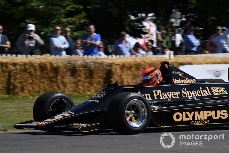 Lotus 79 de 1978 de Mario Andretti, que conquistou seu título mundial naquele ano