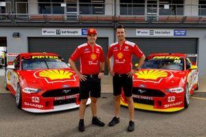 Гонщики DJR Team Penske Фабиан Култхард и Скотт Маклафлин, Ford Mustang GT