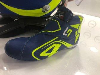 الحذاء الخاص للاندو نوريس، مكلارين