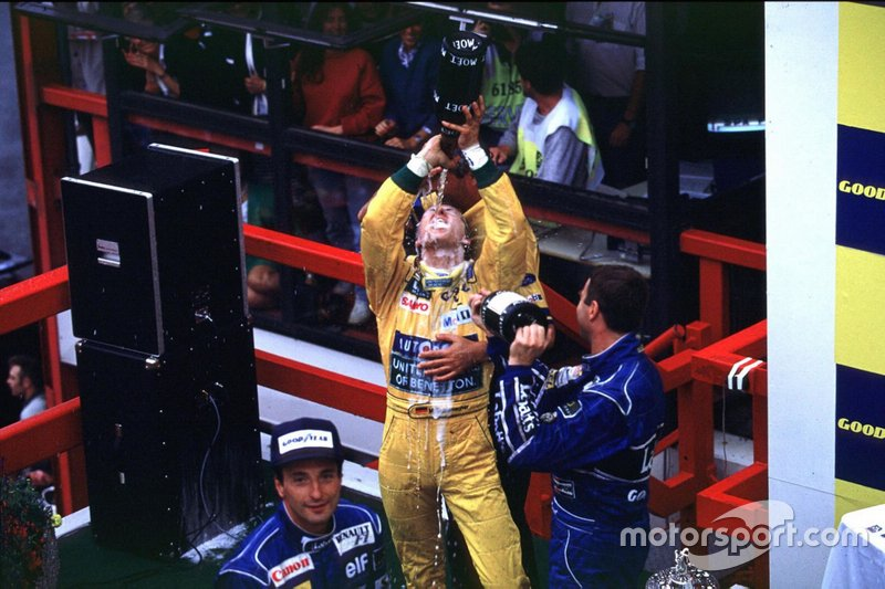 Número de pódios de Schumi na F1: 155