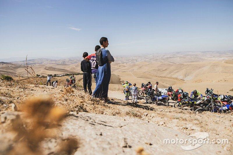 Ambiente del Rally de Marruecos