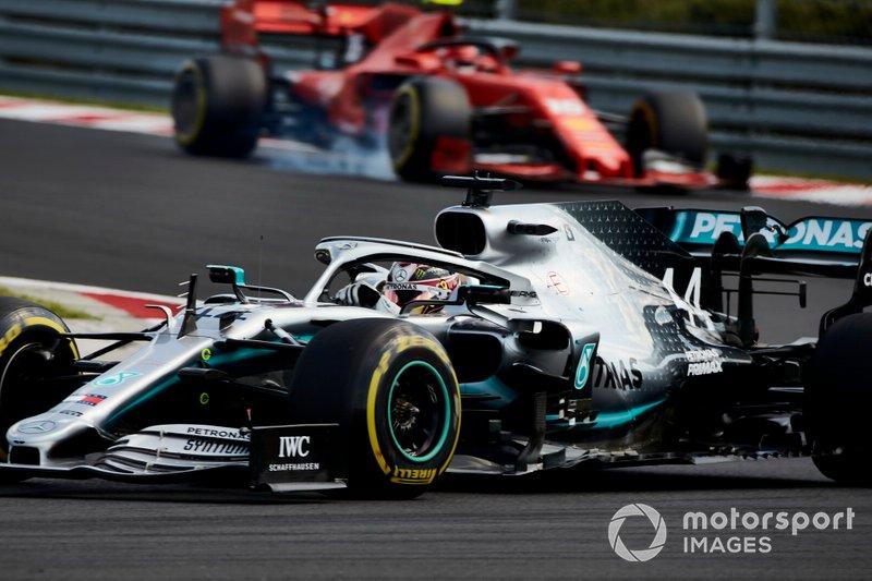 Hungarian GP: Lewis Hamilton, Mercedes