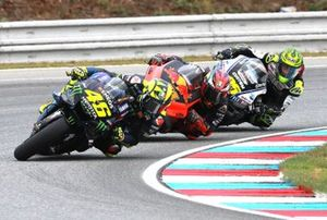 Valentino Rossi, Yamaha Factory Racing, Pol Espargaro, Red Bull KTM Factory Racing, Cal Crutchlow, Team LCR Honda
