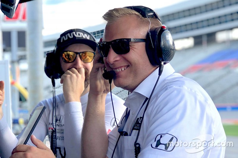 Taylor Kiel, Arrow Schmidt Peterson Motorsports managing director