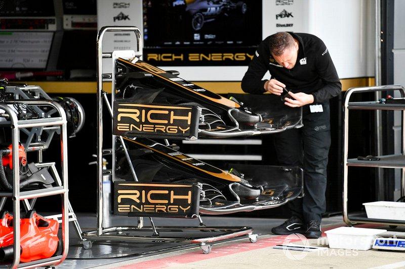 Alerón delantero de Haas F1 Team VF-19